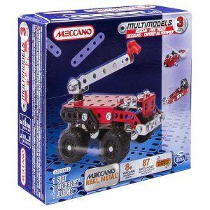 Meccano 6026714 -  Camion de secours 3 modèles
