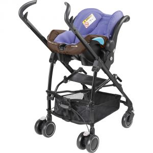 Bébé Confort Maia - Combiné Trio avec poussette, nacelle Compacte et siège auto Streety.fix