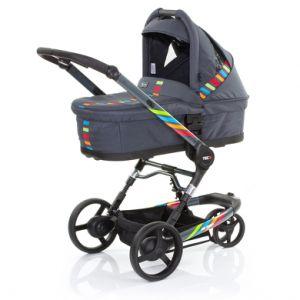 ABC Design 3Tec Plus - Poussette 3 roues combinée avec nacelle