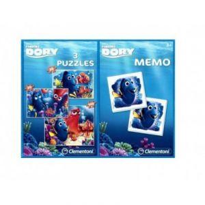 Clementoni 3 puzzles et jeu de némo Nemo