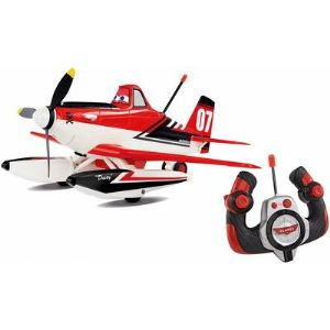 Dickie Toys Dusty, avion radiocommandé Plane 27/40 MHz