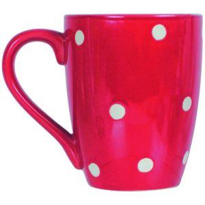Luminarc 6 mugs Pois en grès (35 cl)