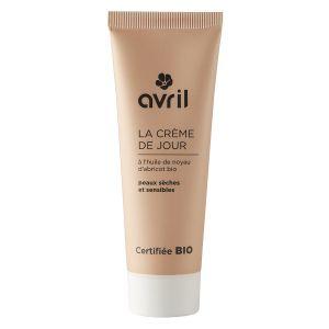 Avril Crème de jour peaux sèches et sensibles à l'huile de noyau d'abricot