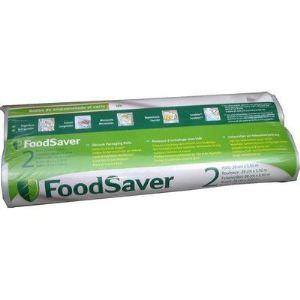 Food saver FSR2802-I - 2 rouleaux de sac 28cm sur 5,5M pour machine à emballer sous-vide