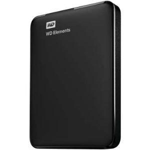 """Western Digital WDBUZG5000ABK - Disque dur externe WD Elements 500 Go 2.5"""" USB 3.0"""