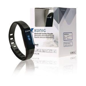 König KN-ACTBL10B - Bracelet d'activité Bluetooth
