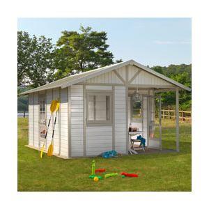 Grosfillex Déco 20B - Abri de jardin en PVC 19,60 m2
