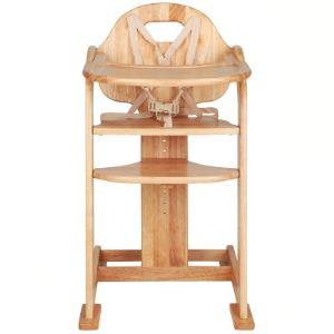 Poyet motte Chaise haute évolutive en hêtre