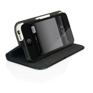 Macally SCASE-P5 - Etui avec support pour iPhone 5