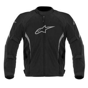 Alpinestars Ast Air (noir et blanc) - Blouson de moto textile pour homme