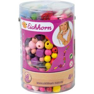 Eichhorn Boîte de 500 perles en bois
