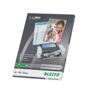 Leitz 100 pochettes de plastification 80 microns iLAM UDT A4