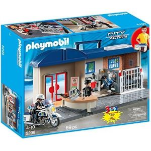Playmobil 5299 City Action - Commissariat de police avec prison