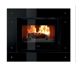 Supra Hirvik - Foyer à bois avec cadre V 01