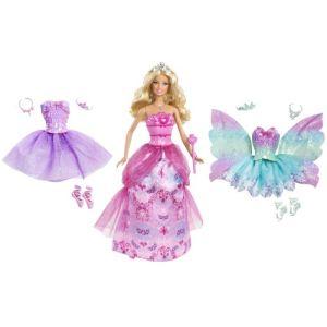 Mattel Barbie coffret princesse et tenues