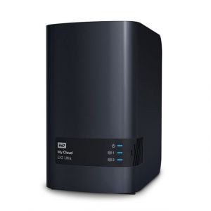 Western Digital WDBVBZ0080JCH - Serveur NAS My Cloud EX2 Ultra 8 To 2 baies Ethernet