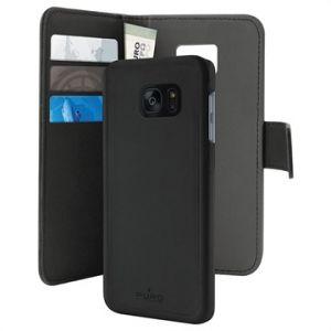 Puro SGS7EDBOOKC3BLK - Coque de protection pour Samsung Galaxy S7 Edge