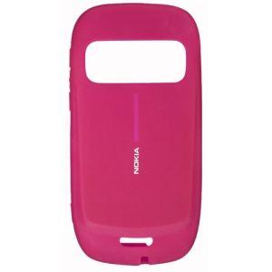 Nokia 02722Q5 - Etui silicone pour Nokia C7 - Rose - CC-1009