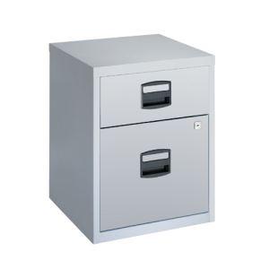 Otto Office Caisson Budget 2 tiroirs en métal