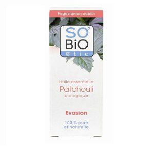 So'Bio Étic Huile essentielle Patchouli bio 15ml