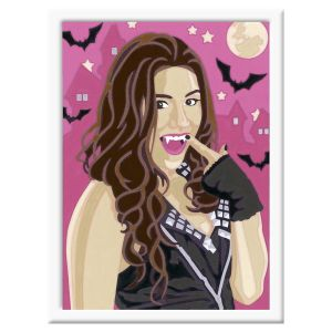 Ravensburger Chica Vampiro - Peinture au numéro Numéro d'Art lignes colorées