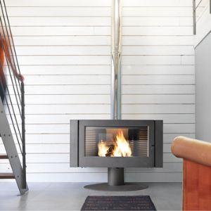 Invicta 6114-44 - Poêle-cheminée Antaya