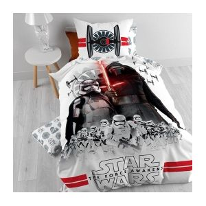 Star Wars : The Force Awakens - Housse de couette et taie (140 x 200 cm)