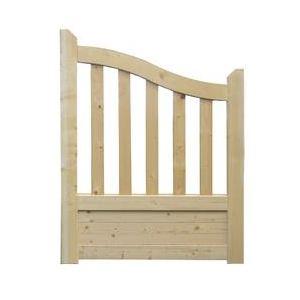 OOGarden Portillon Gand en bois 1 x 1,30 m