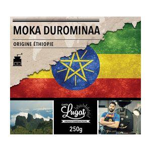 Cafés Lugat Café moulu : Ethiopie - Moka Durominaa - 250g