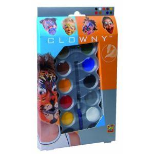 Ses Creative Maquillage : palette Aqua 10 couleurs Clowny