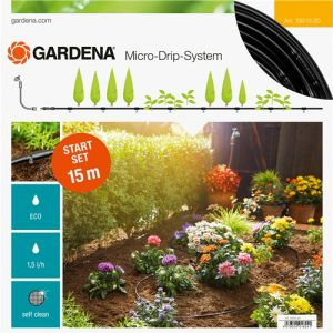 Gardena 13010-20 - Kit d'irrigation Micro-Drip system pour les haies 15m 4,6mm