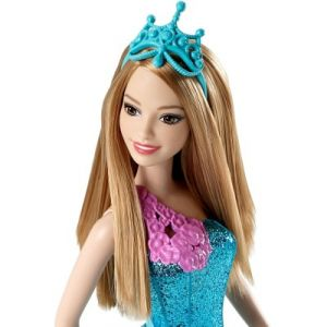 Mattel Barbie sirène bleue