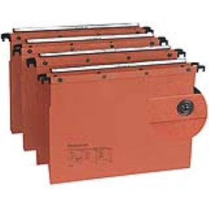 L'Oblique AZ Paquet de 10 dossiers suspendus pour tiroir AZO (fond : 15/30 mm)