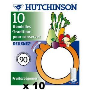 Hutchinson 100 joints à bocaux Tradition 2 nez