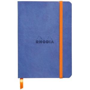 Rhodia 117308C Rhodiarama saphir - Carnet souple format 10,5 x 14,8 cm 144 pages ligné