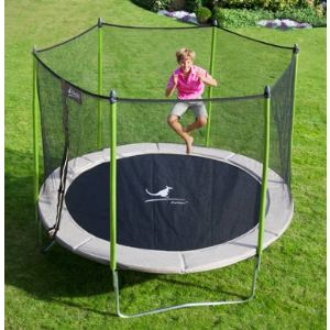 trampoline avec filet protection comparer 247 offres. Black Bedroom Furniture Sets. Home Design Ideas