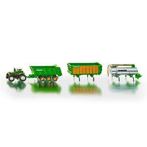 Siku 1848 - Tracteur Deutz avec remorques Joskin - Echelle 1:87