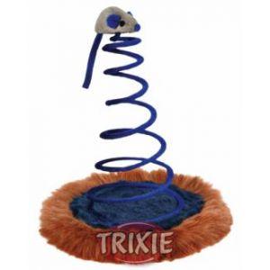 Trixie Souris sur ressort en peluche pour chat et chaton