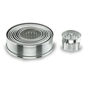 Lacor 9 emporte-pièces ronds cannelés