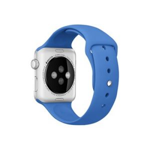 Apple Bracelet de montre Apple watch 42mm Sport Bleu royal