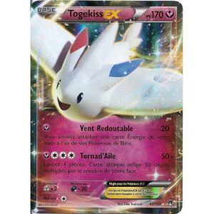 Asmodée Togekiss - Carte Pokemon 83/122 Ex Rare