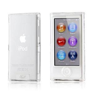 Novago Coque transparente crystalisée avant et arrière pour iPod Nano 7G
