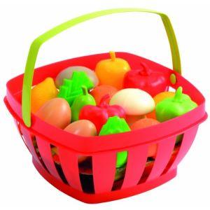 Ecoiffier 966 - Panier garni fruits et légumes