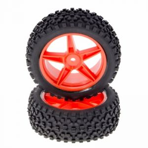 MonsterTronic 66004 - 2 roues avant buggy 1/10 - 85x34 mm - 12 mm