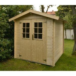 Luoman MIKKA - Abri de jardin en bois 3,45 m² 19 mm