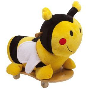Porteur peluche abeille