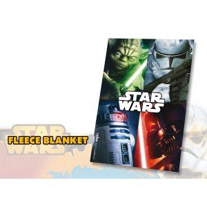 Couverture polaire Star Wars (100 x 150 cm)