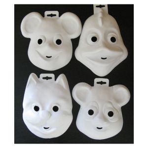 Masque animalier à décorer