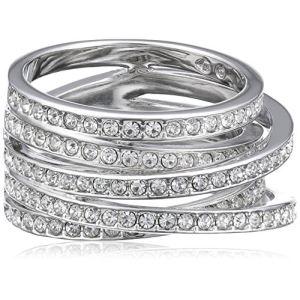 Image de Swarovski Spiral (1156306) - Bague pour femme en métal