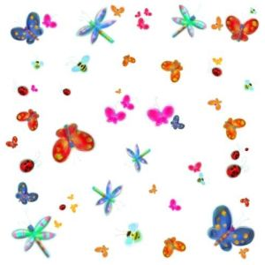 Stickers muraux papillons comparer 87 offres - Stickers muraux repositionnables ...